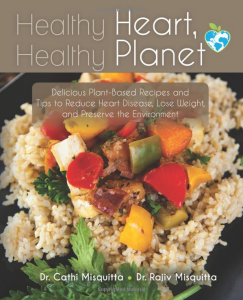 KP Sacramento's Dr. Misquitta and his wife wrote Healthy Heart, Healthy Planet.
