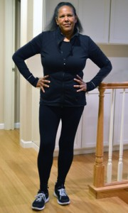 Marie Lee this year—85 pounds lighter and with a goal of losing 15 more.