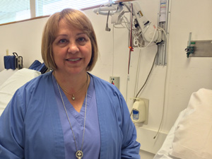 Nurse Honored for Being at Heart of Volunteerism