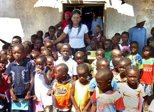 Kathryn Walker started a nonprofit with a goal of building an orphanage, school, and medical clinic in Monrovia.